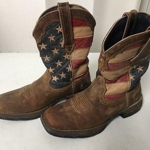Cowboy boots- American flag